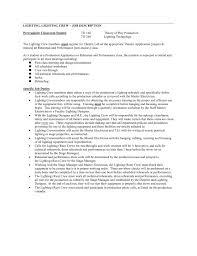 debriefing report template technical theatre job descriptions resume sample technical theatre job descriptions