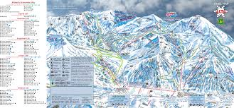 Map Of Salt Lake City Utah by Alta Ski Trail Map Little Cottonwood Canyon Salt Lake City Utah