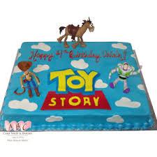 story birthday cake 1071 disney s story birthday cake abc cake shop bakery