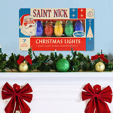christmas decorating with retro signs featuring vintage christmas