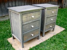 ana white 3 drawer night stands diy projects