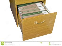 open wooden filing cabinet stock images image 13457744