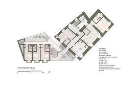 hotel suite floor plans gallery of 40 room boutique hotel chris briffa architects 7
