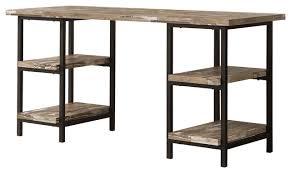 Industrial Writing Desk by Skelton Rustic Writing Desk Industrial Desks And Hutches By