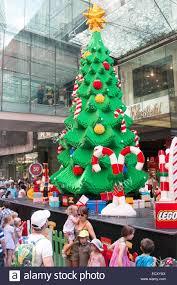 sydney australia 22nd dec 2014 the lego christmas tree