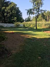 yard renovation grading loam seed merrimack nh a landscaping