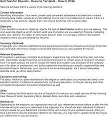 Address On Resume Example Resume With Ged As Education Resume Ixiplay Free Resume