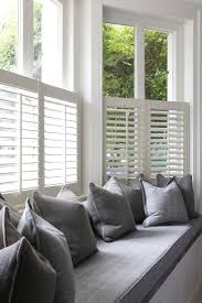 Window Blinds Curtains by Best 25 Window Seat Curtains Ideas On Pinterest Bay Windows