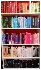 i re organized my rainbow bookshelf and it u0027s so beautiful isn u0027t