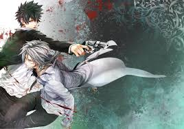 kougami x makishima psycho pass pinterest psycho pass and anime
