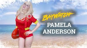 Baywatch Halloween Costume Baywatch Pamela Anderson Makeup U0026 Costume Los Vigilantes La