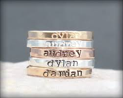 rings with children s names this listing is for 1 sted name ring customize