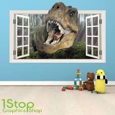 3d dinosaurs world jurassic park living room bedroom removable