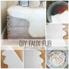 Cheap Faux Fur Blanket Easy Diy Faux Fur Rug U0026 Fa La La Free Printable City Farmhouse