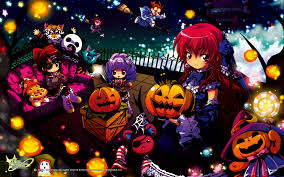 halloween background anime emil chronicle online mmo rpg fantasy 1eco adventure anime manga