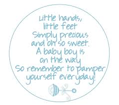 baby shower poems scrub baby shower favor