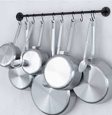 kitchen room marvelous under cabinet pan hanger pan and lid