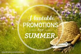 Summer Gardening - 5 plantable promotional products for summer gardening giveaways
