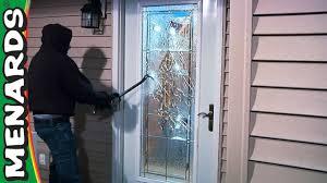 Glass Exterior Door Security Exterior Doors What S New Menards