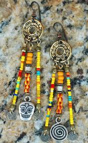 Colorful Chandelier Earrings Chandelier Earrings Skull African Tribal Jewelry Xo Gallery