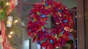 ribbon wreaths step by step diy ribbon wreath hgtv