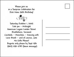 50th birthday invitations free free invitations ideas