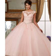 cinderella quinceanera dresses organza lace beaded appliques gown coral cinderella