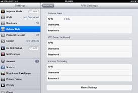 talk apn settings android ios 7 talk apn settings apn settings usa