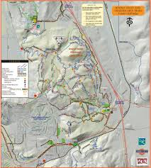 Utah State Parks Map by Park City Hiking Trails Utah Com