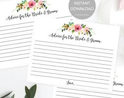 Advice Cards For The Bride And Groom Wishes For The Bride And Groom Advice For The Bride And