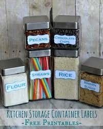 labels for kitchen canisters kitchen storage container labels free printables on timeout