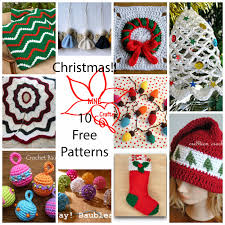 mne crafts christmas round up 10 free patterns blogger