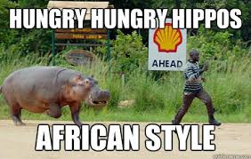 Africa Meme - hungry hungry hippos african style hippos africa quickmeme