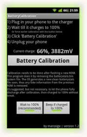 android battery calibration the battery stats on your android device with a simple app