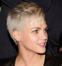 very short pixie hairstyle with saved sides pixie haircuts with shaved sides google search hair pinterest