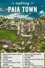 Capital Bike Share Map Exploring Paia Town Maui Hawaii Fun Things To Do