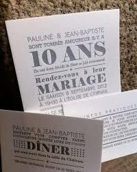idã e cadeau 10 ans de mariage les 25 meilleures idées de la catégorie texte faire part mariage