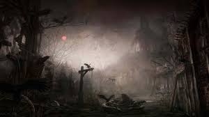 animated halloween desktop wallpaper animated scary halloween backgrounds clipartsgram com
