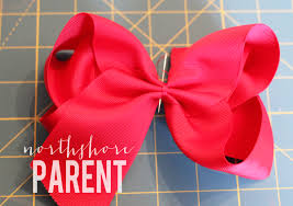 big ribbon how to make a big southern bow northshore parent
