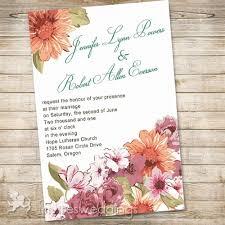 garden wedding invitations flowers garden wedding invitations iwi302 wedding