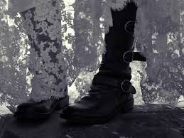 the joy of biker boots