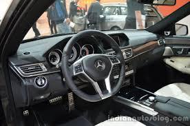 Mercedes Benz E Class 2014 Interior 2014 Mercedes E Class With 9 Speed Gearbox Frankfurt Live