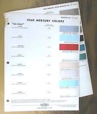 paint chips cards ebay