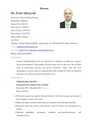 resume format sle doctor s note cv for doctors paso evolist co