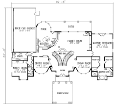 Mediterranean Floor Plan Mediterranean Style House Plan 4 Beds 4 50 Baths 5100 Sq Ft Plan