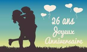 26 ans de mariage carte anniversaire mariage 26 ans virtuelle gratuite à imprimer