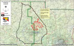Wildfire Map America by The Boundary Fire Northwest Of Flagstaff At 5 784 Acres 13