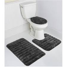 Bathroom Rugs And Mats Mohawk Shannon Stripe 3pc Bath Rug Set In Gray Altmeyer S
