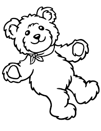 6 original teddy bear coloring pages ngbasic