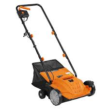 amazon com vonhaus 2 in 1 lawn dethatcher u0026 aerator 12 amp 13